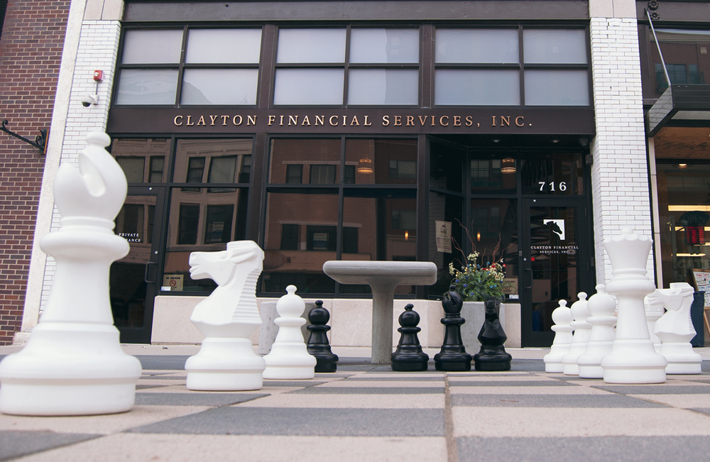 Clayton Wealth Partners Large Chessboard